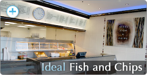 Shop Fitting for Ideal Fish and Chips
