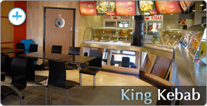 Shop Fitting for King Kebab