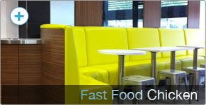 Shop Fitting for Fast Food Chicken