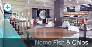 Shop Fitting for Nemo Fish